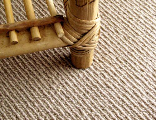 Cuidados de los suelos de fibras vegetales